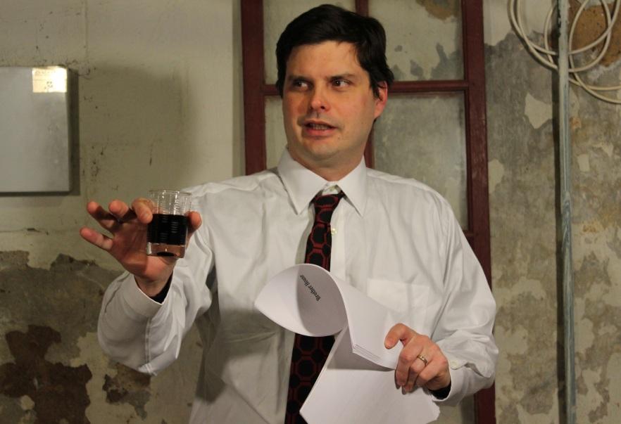 Josh McIlvain of SmokeyScout Productions. Photo by Deb Crocker.