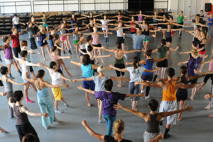 Ohad Naharin teaching Gaga